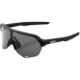 100% S2 Glasses soft tact black